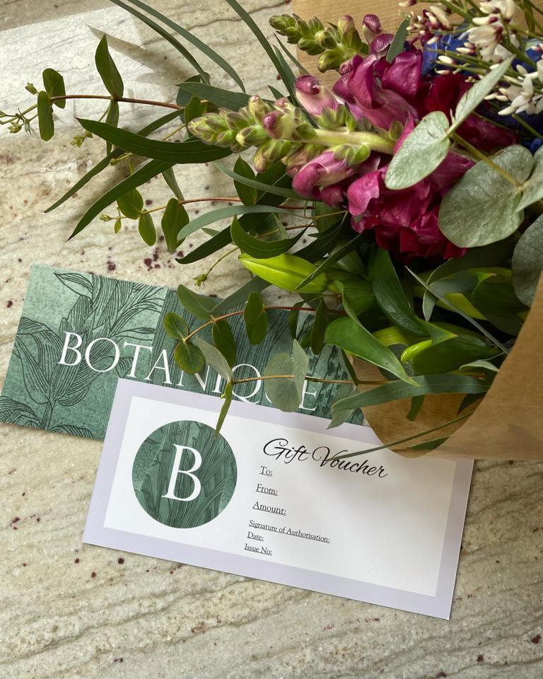Botanique Gift Voucher
